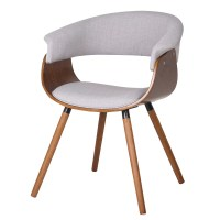 !nspire Bent Wood Accent Barrel Chair & Reviews