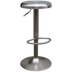 Stainless Steel Stools Kitchen Cabinet Pantry Nspire Adjustable Height Swivel Bar Stool And Reviews Wayfair