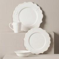 Lark Manor Anderton 4 Piece Dinnerware Set & Reviews   Wayfair