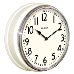 Retro Kitchen Wall Clock How To Get Rid Of Bugs In Cupboards Westclox 12 Quot And Reviews Wayfair
