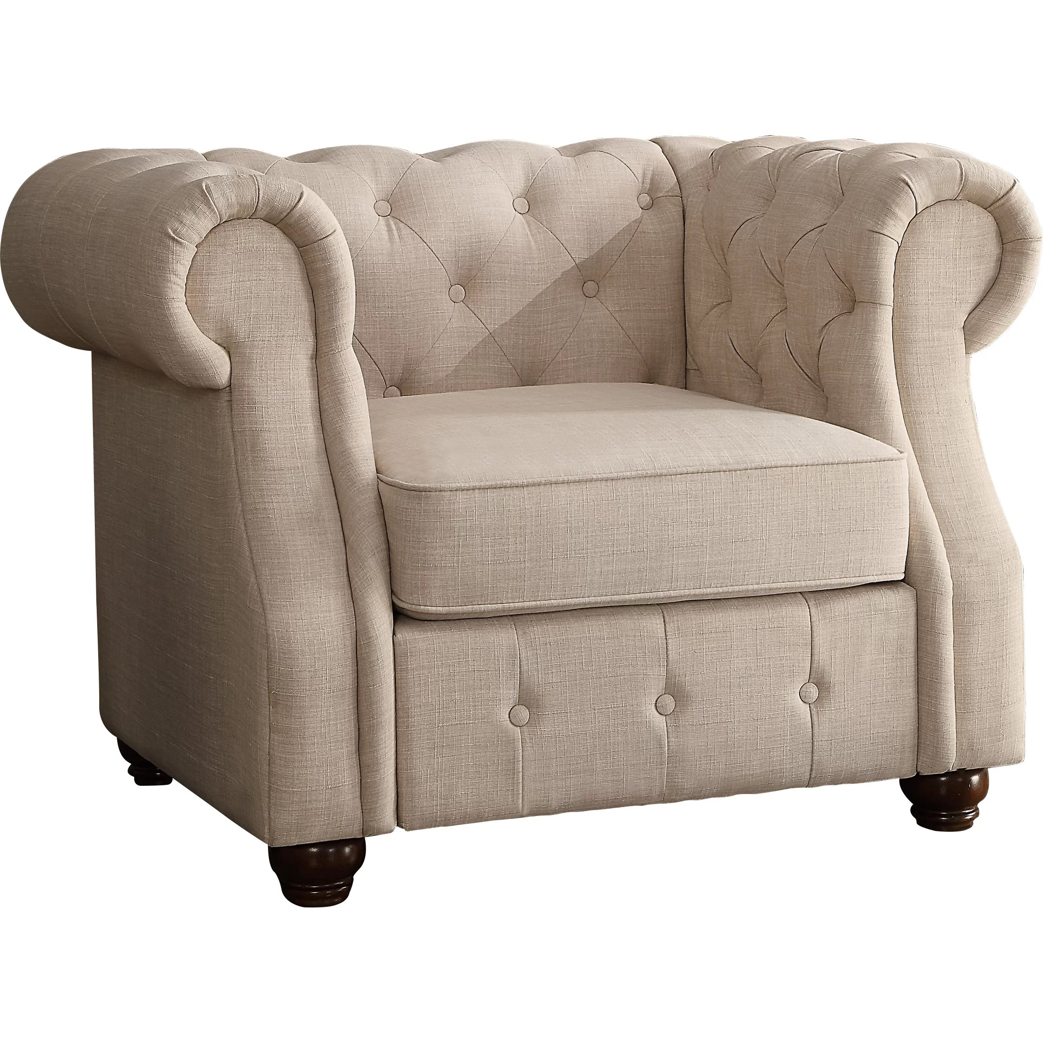 Barrell Chair Mulhouse Furniture Olivia Tufted Barrel Chair And Reviews