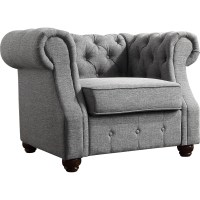 Mulhouse Furniture Olivia Tufted Barrel Chair & Reviews ...