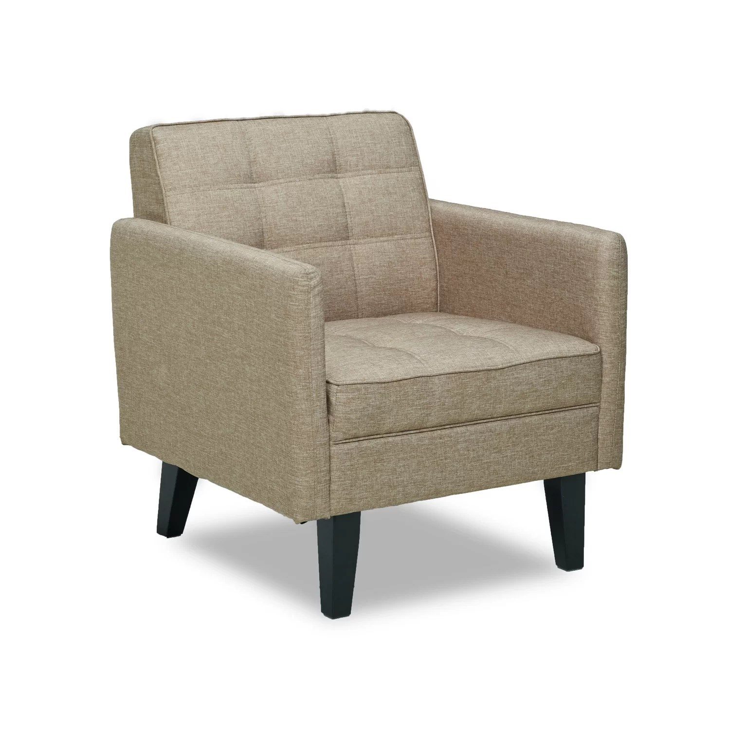 Armed Accent Chairs Container Accent Arm Chair And Reviews Wayfair Ca
