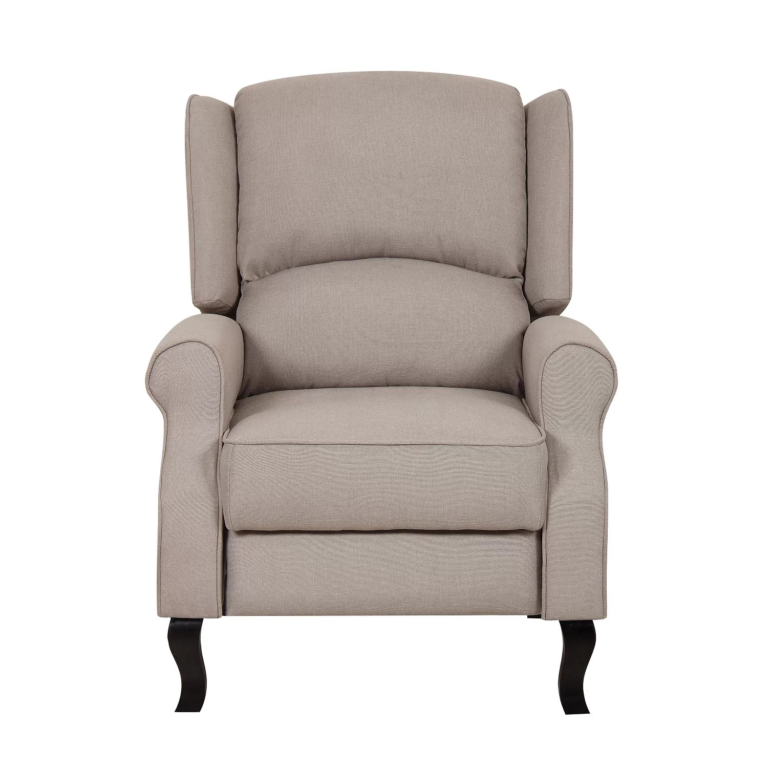 Accent Recliner Chairs Container Linen Fabric Recliner And Reviews Wayfair