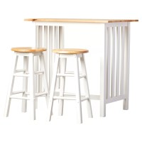 August Grove Sigrid 3 Piece Counter Height Pub Table Set ...