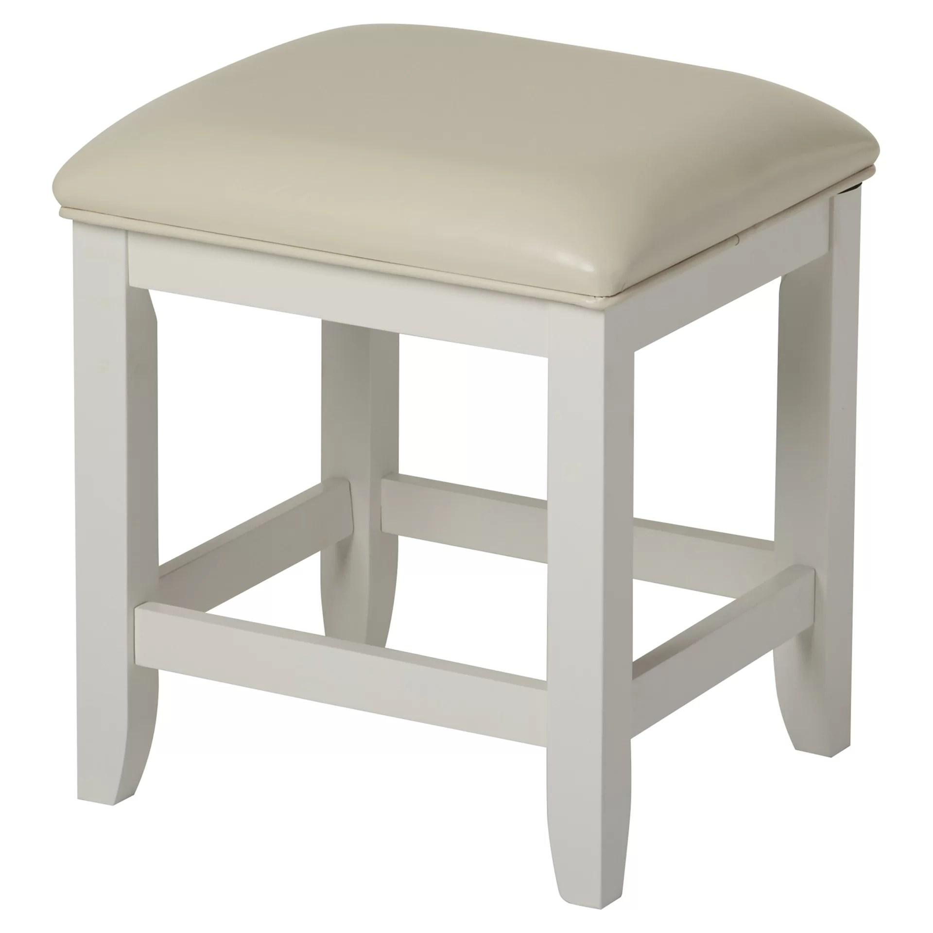 bathroom vanity stools and chairs stool box chair beachcrest home westwood wayfair