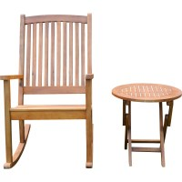 Beachcrest Home Bristol 2 Piece Patio Chair and Table Set ...