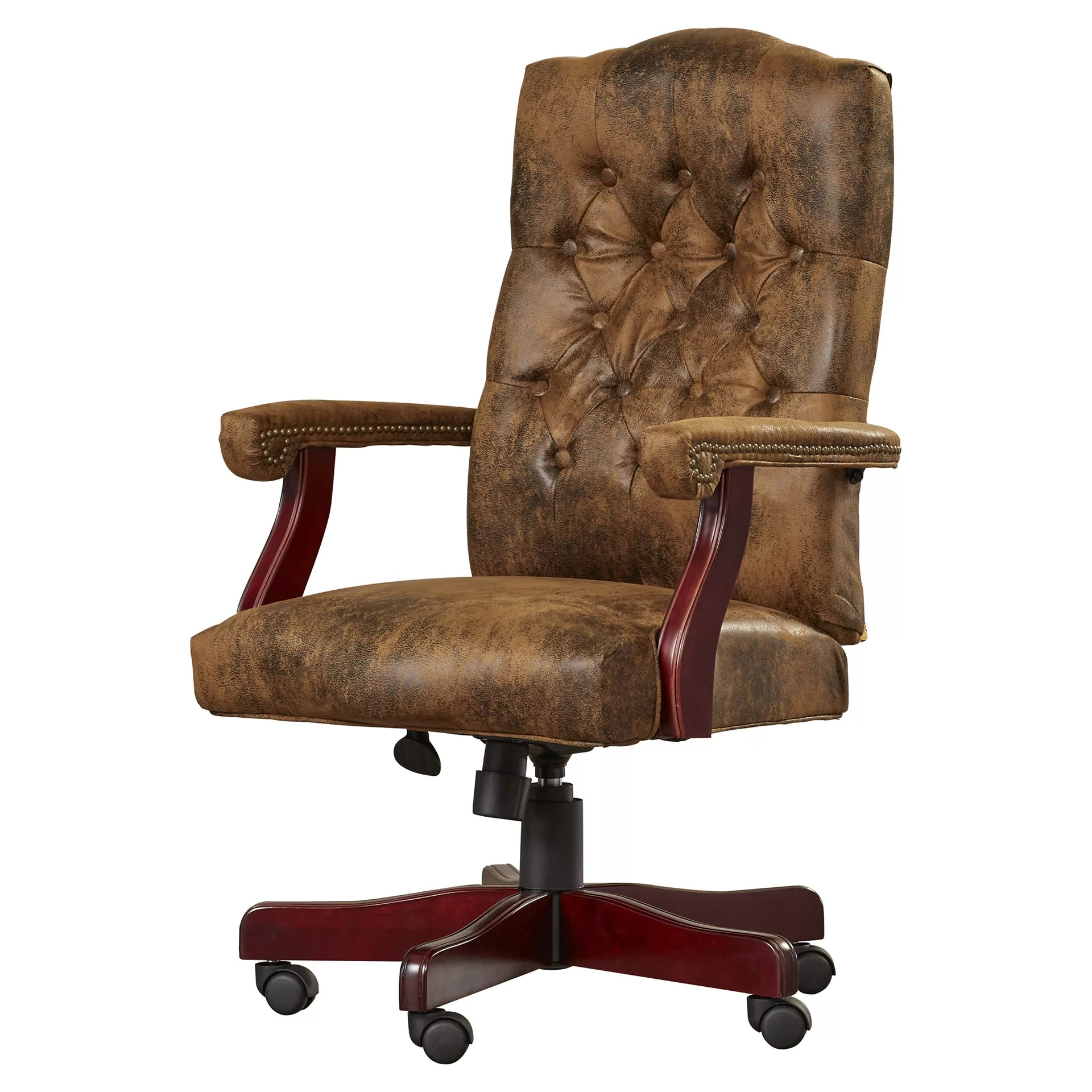 Office Chair With Arms Loon Peak Hebbville High Back Executive Office Chair With