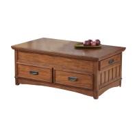 Loon Peak Barrett Trunk Coffee Table with Lift Top ...