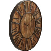 "Loon Peak Oversized 23"" Printed Wall Clock & Reviews 
