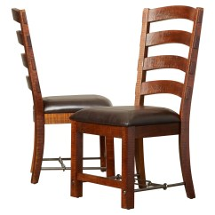Ladderback Dining Chairs Antique Lounge Chair Loon Peak Waban Side And Reviews Wayfair