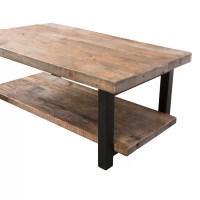 """Loon Peak Somers 42"""" Wood/Metal Coffee Table & Reviews ..."""
