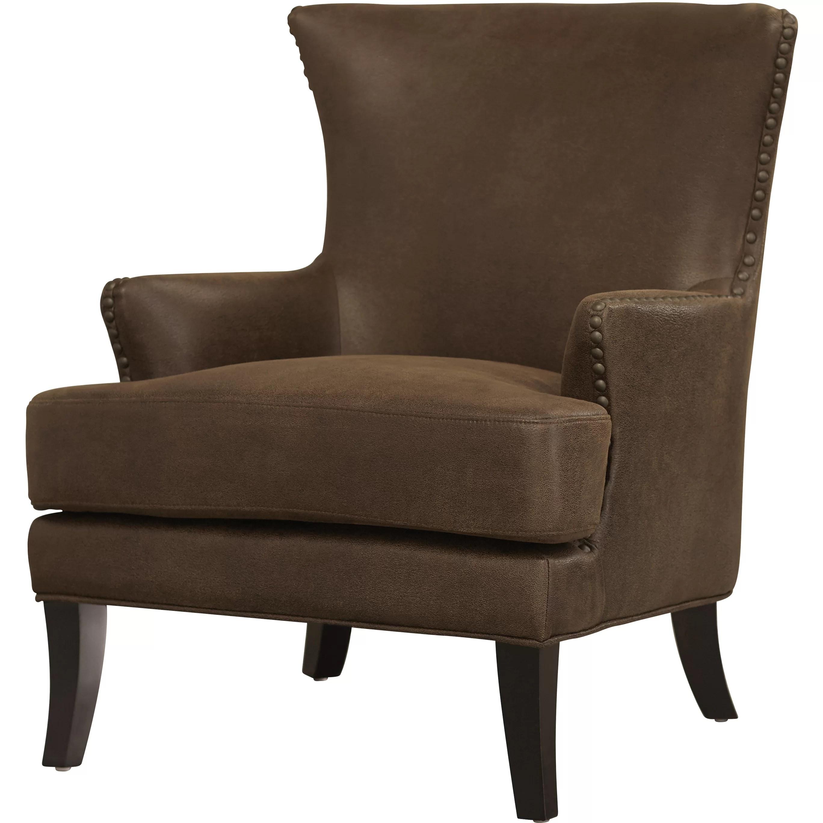 Loon Peak Vinita Wingback Chair  Reviews  Wayfair
