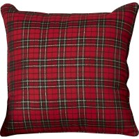 Loon Peak Greeley Holiday Plaid Throw Pillow & Reviews