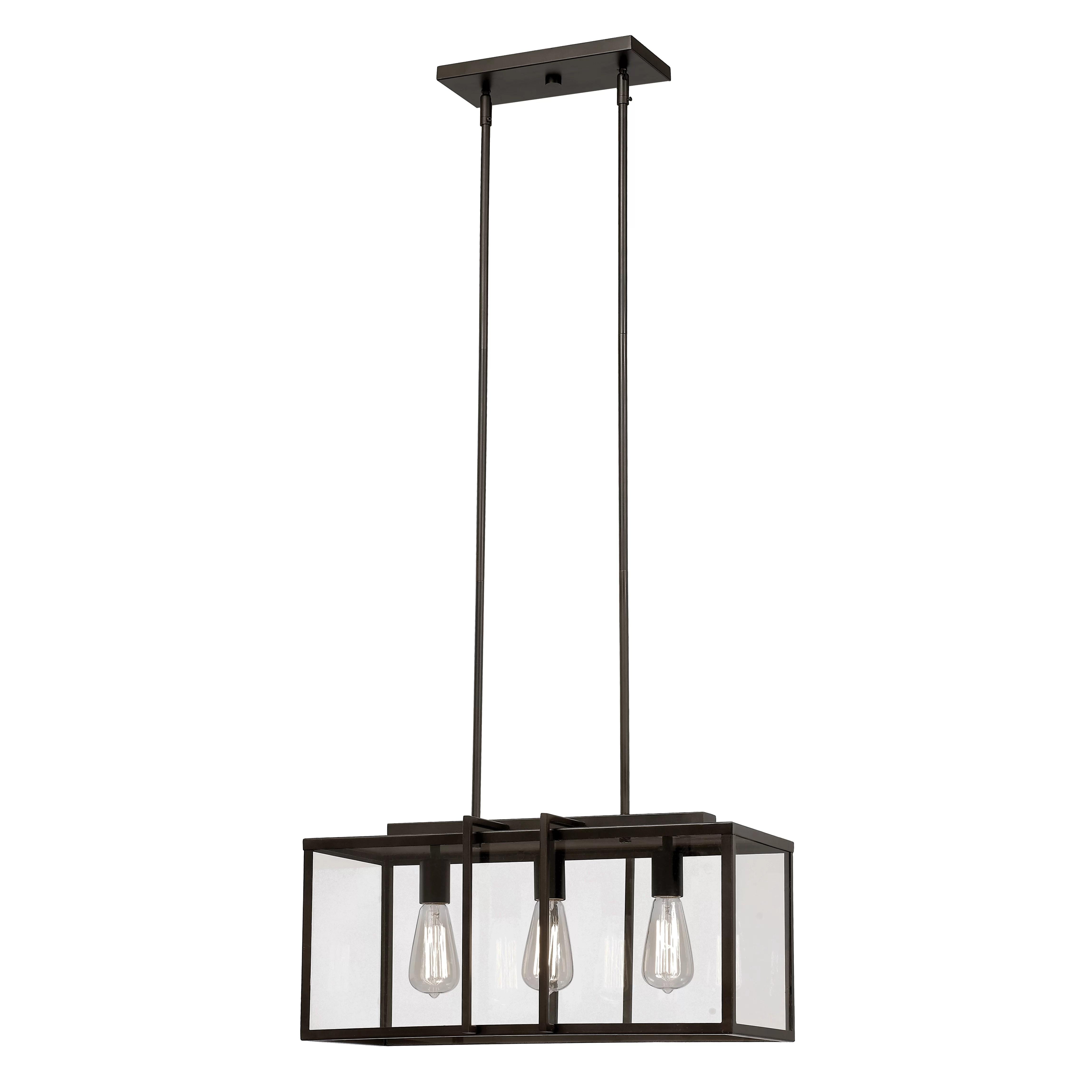 pendant lighting kitchen island cabinet trent austin design 3 light