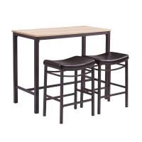 Trent Austin Design Bezons 3 Piece Pub Table Set & Reviews ...
