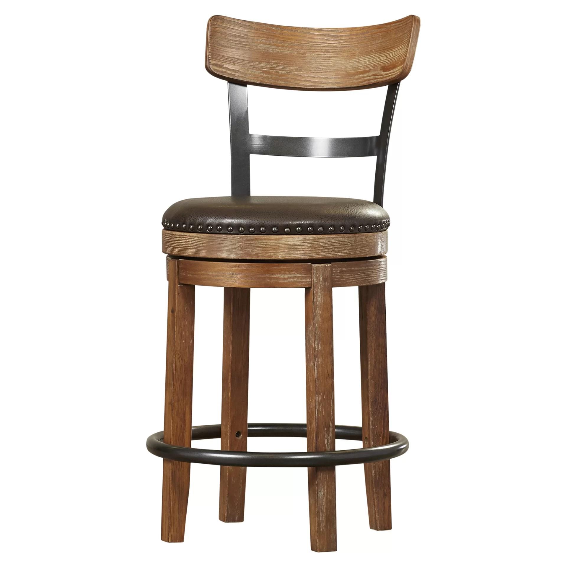 """Trent Austin Design Empire 24.25"""" Swivel Bar Stool"""