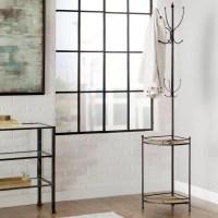 Trent Austin Design Corner Metal/Wood Coat Rack & Reviews ...