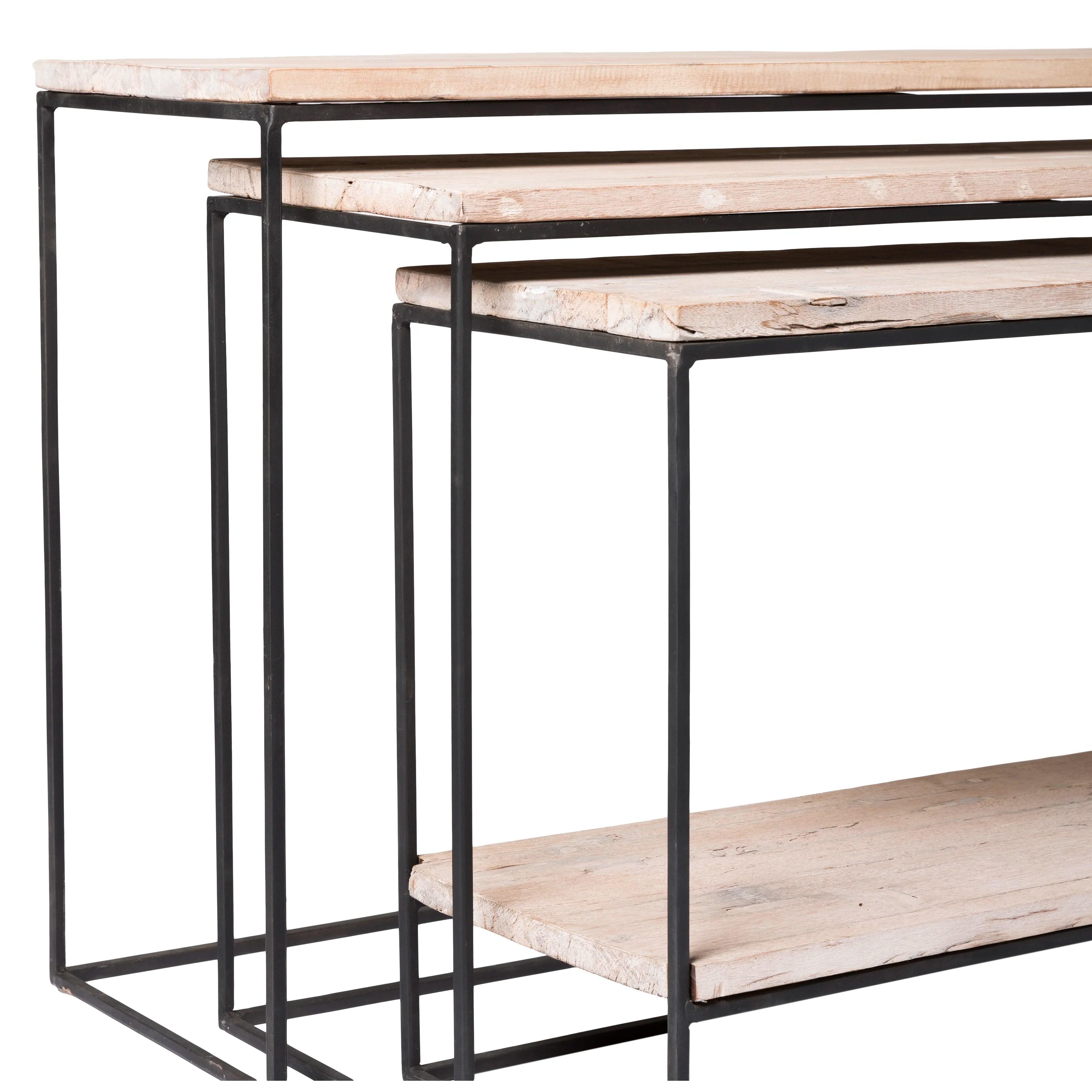 Trent Austin Design Wheatland 3 Piece Console Table Set