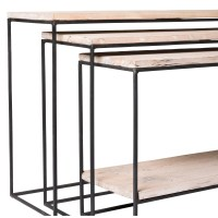 Trent Austin Design Wheatland 3 Piece Console Table Set