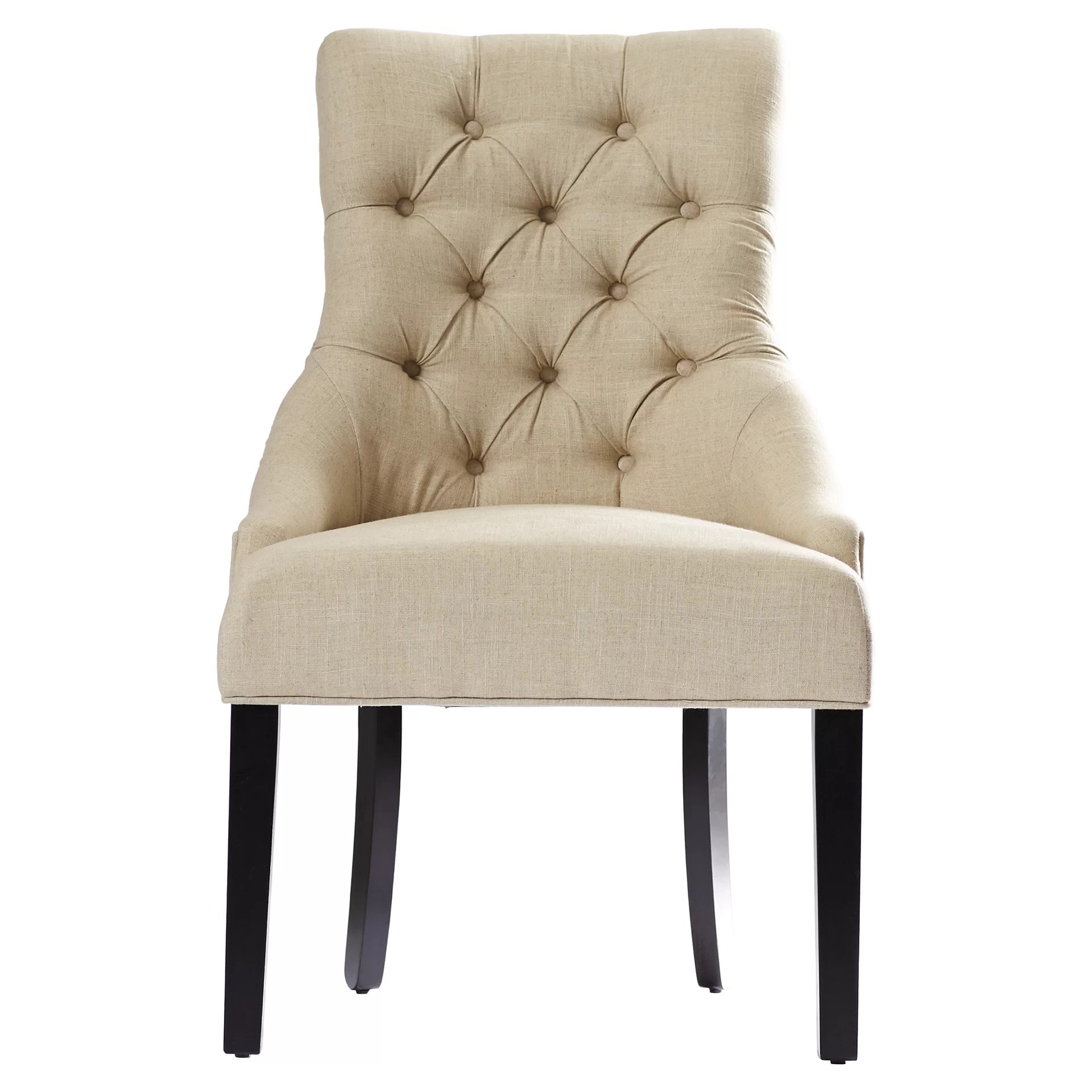 House of Hampton Jodie Tufted Nailhead Parsons Chair