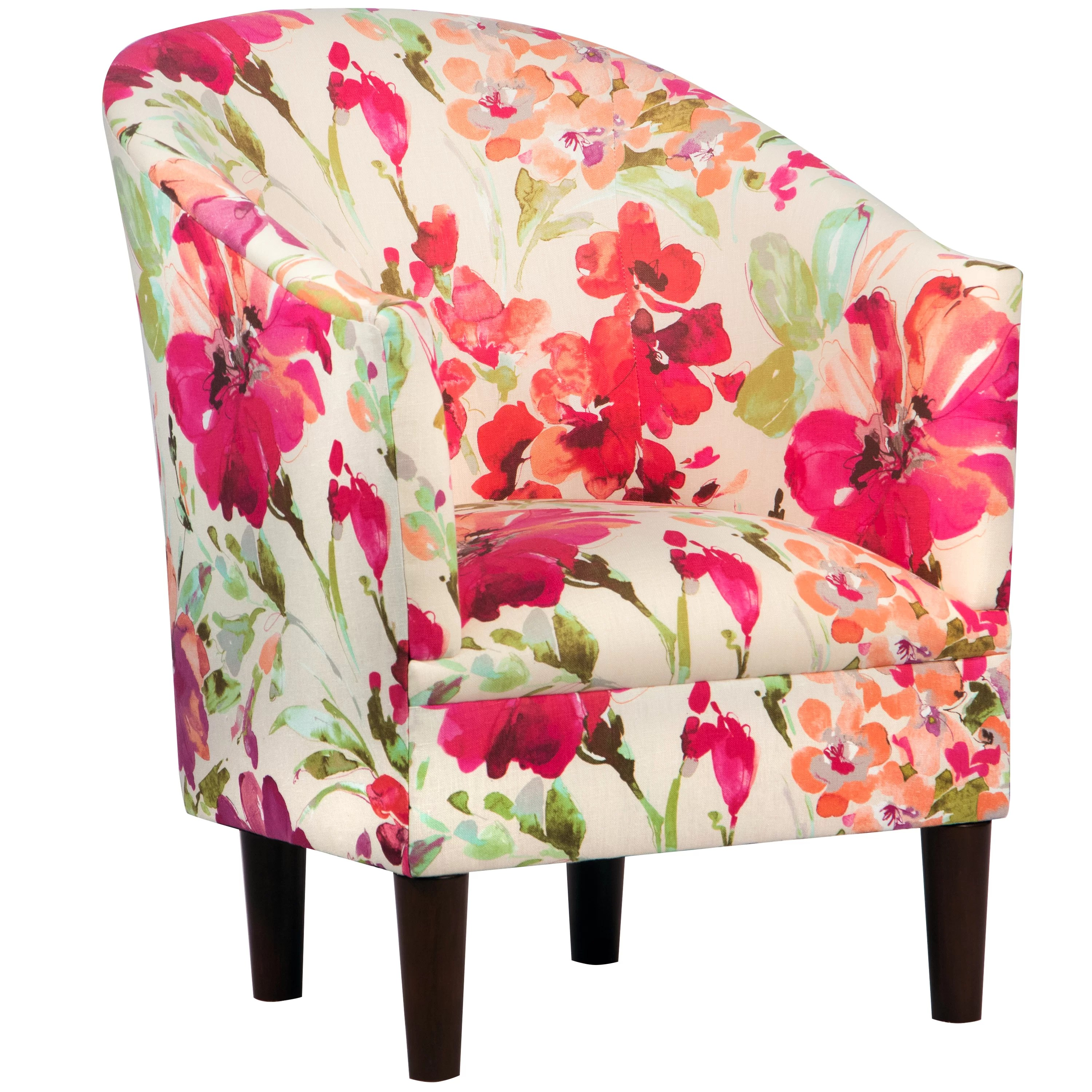 Floral Chair House Of Hampton Timothy Tub Chair And Reviews Wayfair