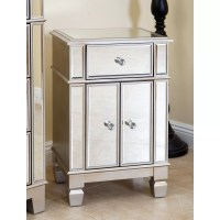 House of Hampton Stine Mirrored Accent Cabinet