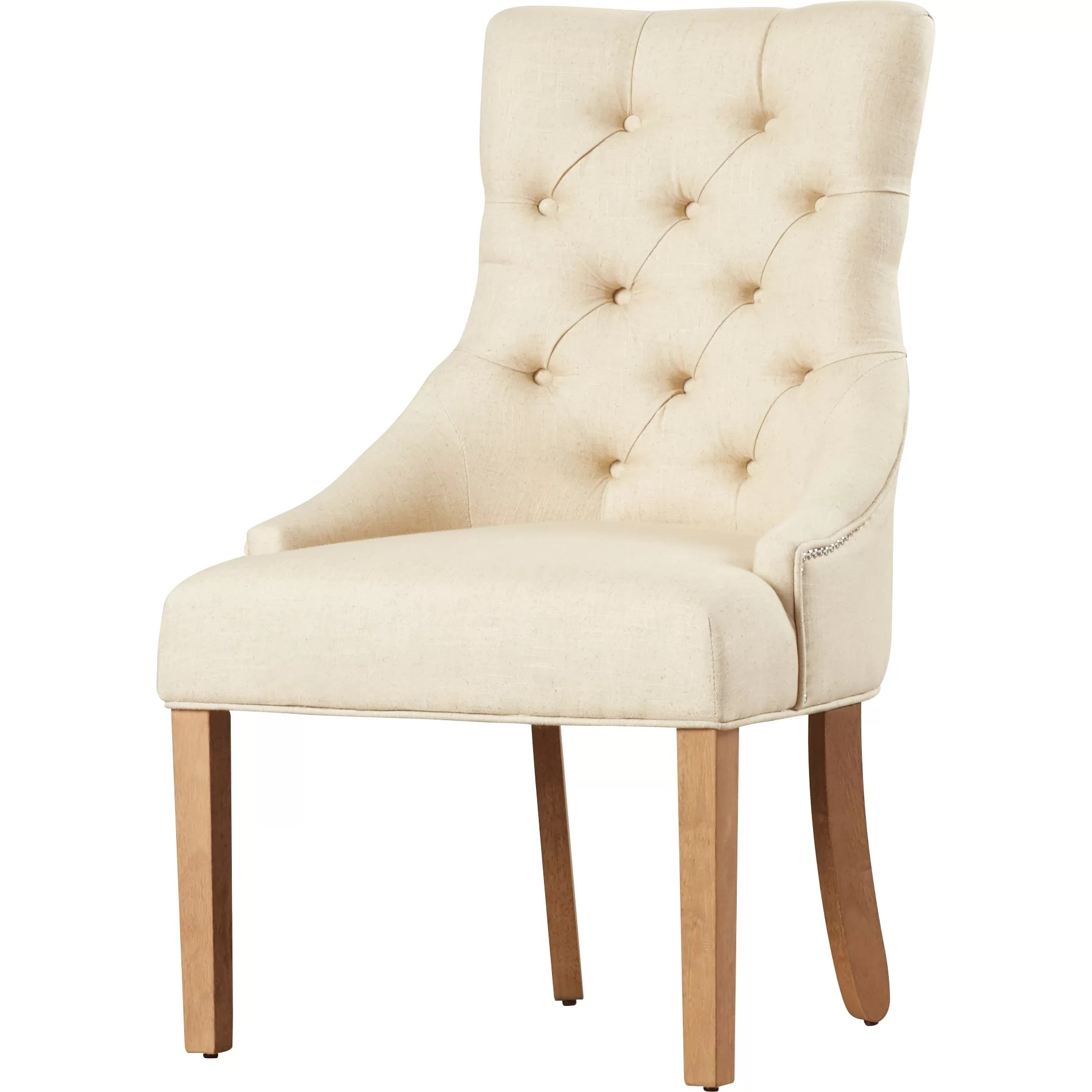 tufted nailhead chair reclining salon white house of hampton jodie parsons