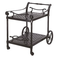 Gensun Casual Grand Terrace Serving Cart | Wayfair