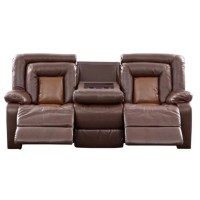 Roundhill Furniture Kmax 2 Piece Reclining Sofa and ...