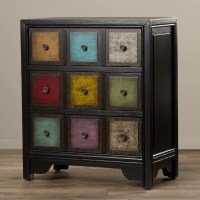 Bungalow Rose Jerry 3 Drawer Accent Chest & Reviews | Wayfair