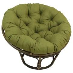 Circular Bamboo Chair Cushion Baby Support Bungalow Rose Benahid Outdoor Rattan Papasan With