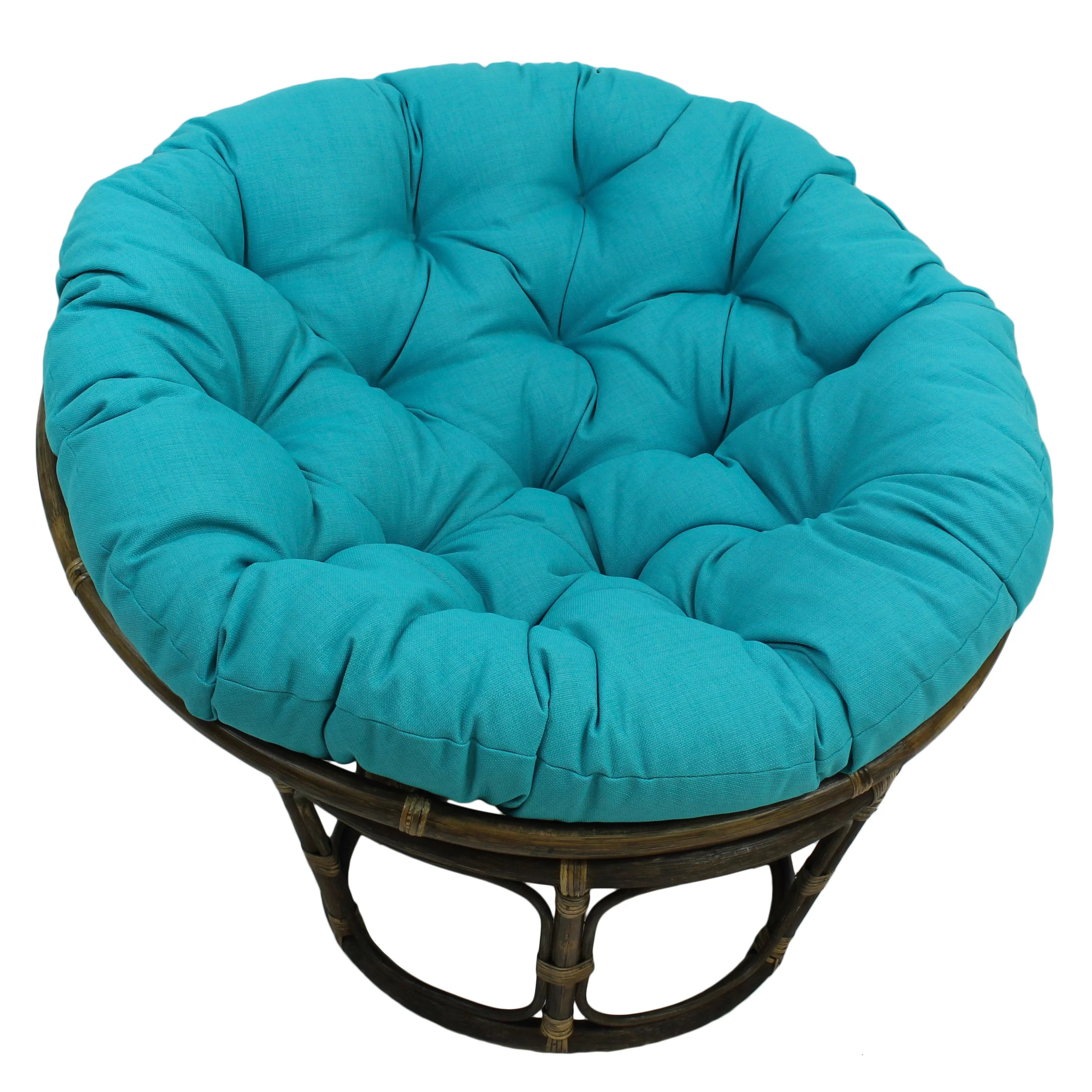 Kids Papasan Chair Bungalow Rose Benahid Outdoor Rattan Papasan Chair With