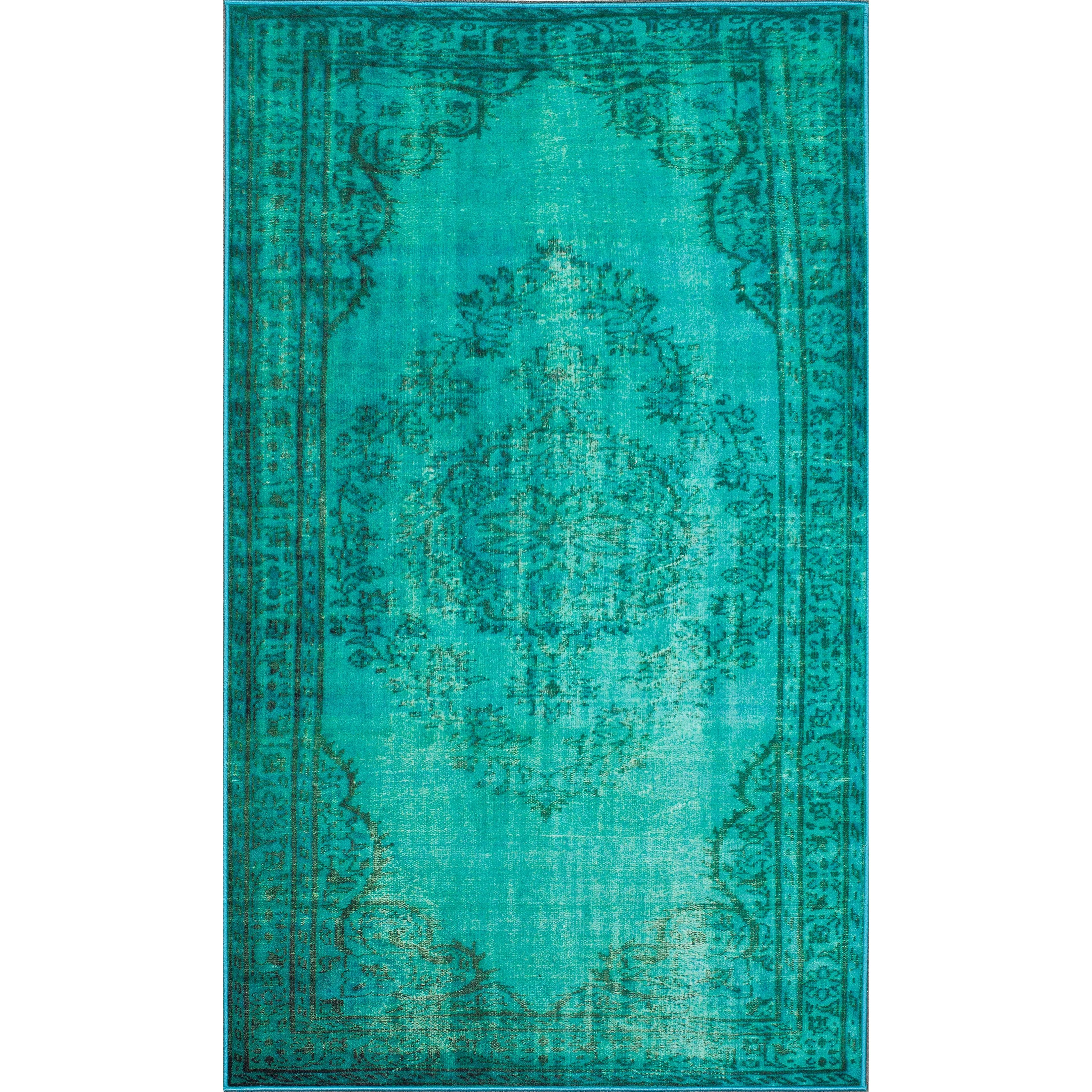 turquoise kitchen rugs islands for small kitchens bungalow rose xavier machine woven area rug