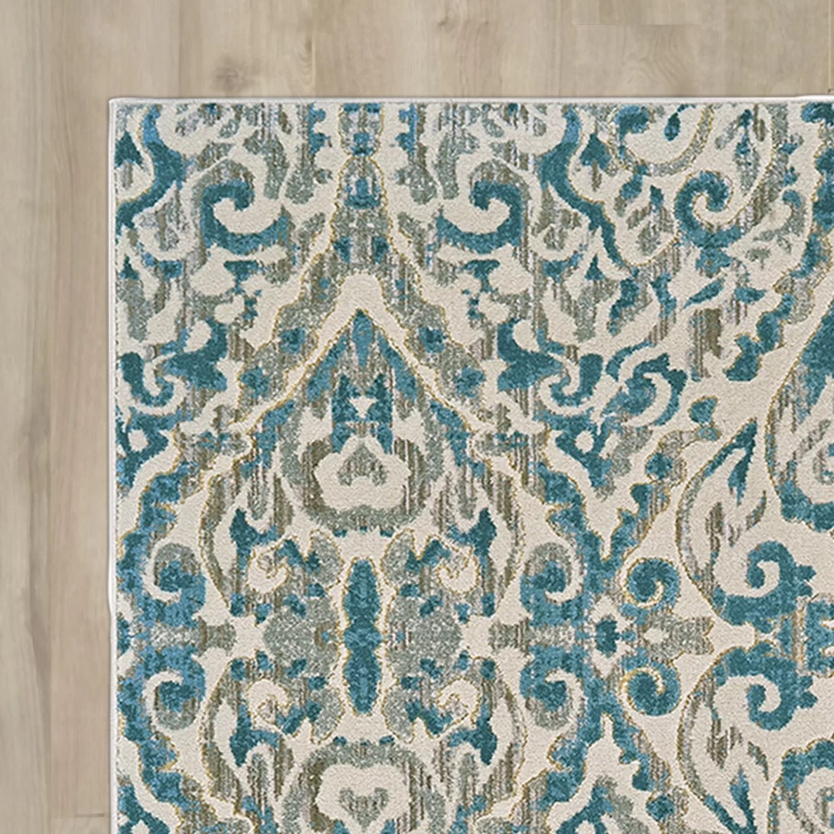 turquoise kitchen rugs faucet sprayer attachment bungalow rose saleya area rug and reviews wayfair