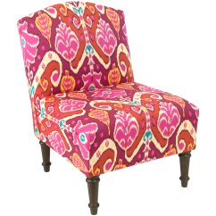 Upholstered Slipper Chair Tufted And Ottoman Bungalow Rose Panny Wayfair