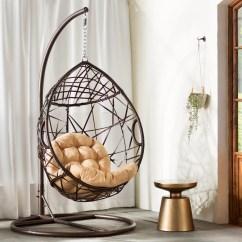 Teardrop Swing Chair Venus Revolving Bungalow Rose Auxerre Tear Drop Swinging With