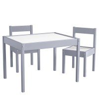 Viv + Rae Miriam 3 Piece Rectangular Table and Chair Set ...