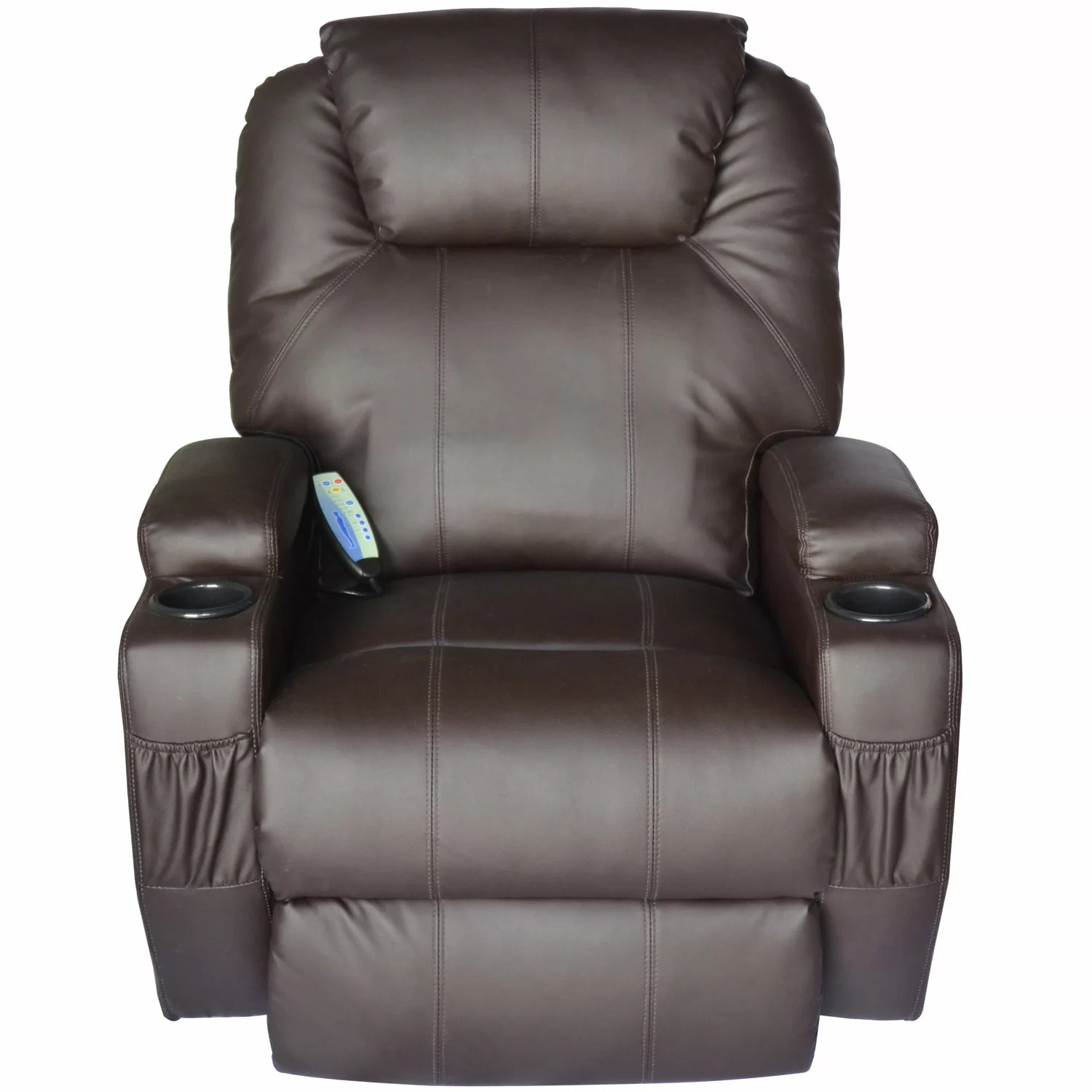 vibrating gaming chair eams lounge outsunny homcom deluxe heated vinyl leather
