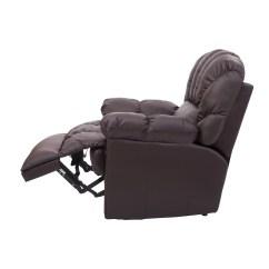 Reclining Massage Sofa Gus Jane Outsunny Homcom Vibrating Recliner And Reviews Wayfair