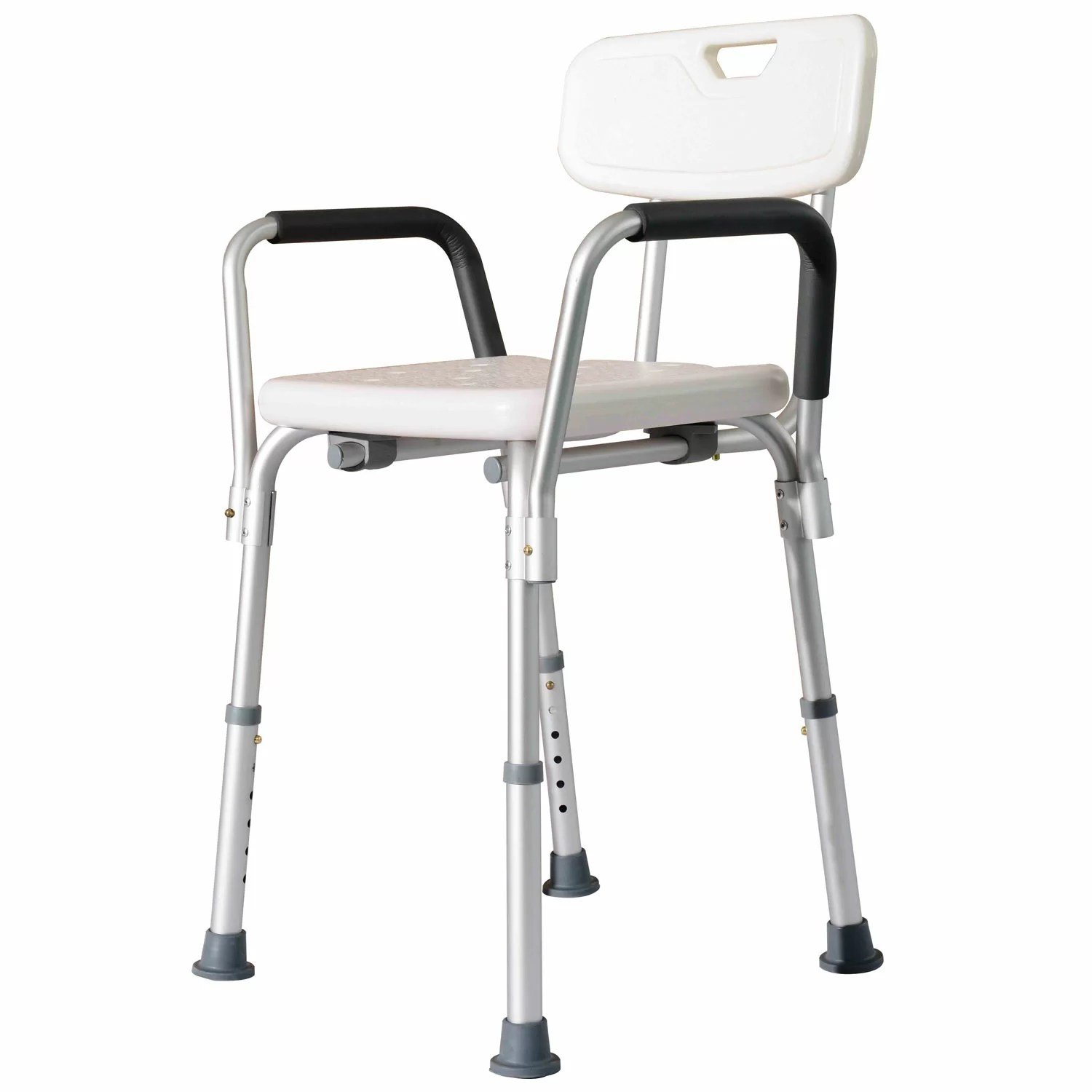 Medical Bath Chair Homcom Adjustable Medical Shower Seat And Reviews Wayfair