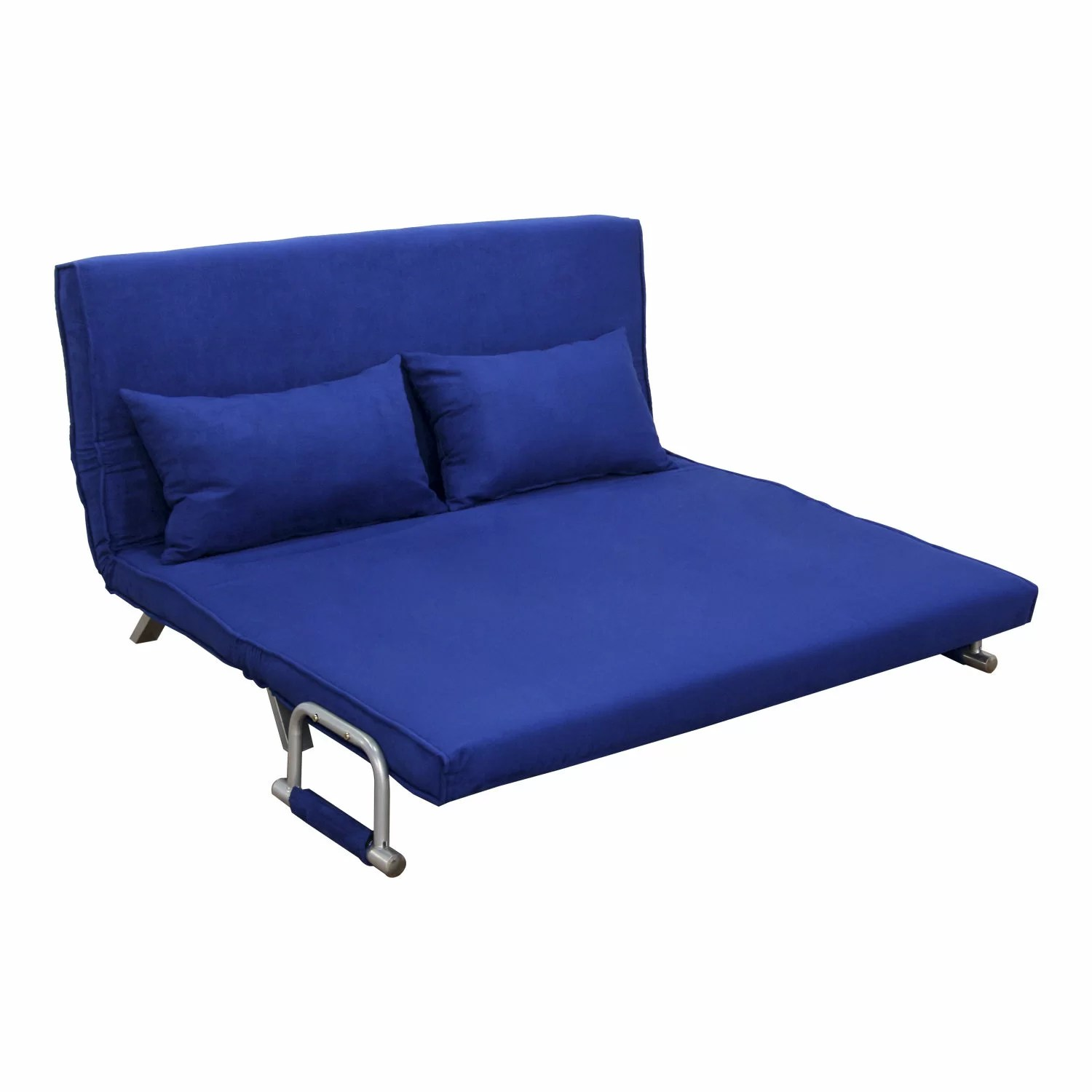 Folding Couch Chair Homcom Folding Futon Sleeper Sofa And Reviews Wayfair