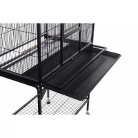 HomCom Metal Bird Cage with Removable Tray