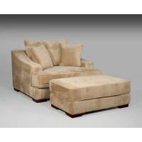 Sage Avenue Cameron Chair and a Half and Ottoman   Wayfair