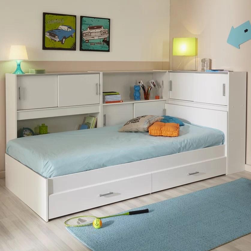 Parisot Snoop Twin Bed with Storage  Wayfair