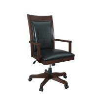 Fairfax Home Collections Companion Mid-Back Office Chair ...