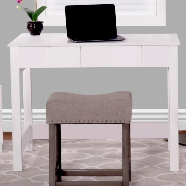 Comfort Products Cork Writing Desk With Flip Vanity