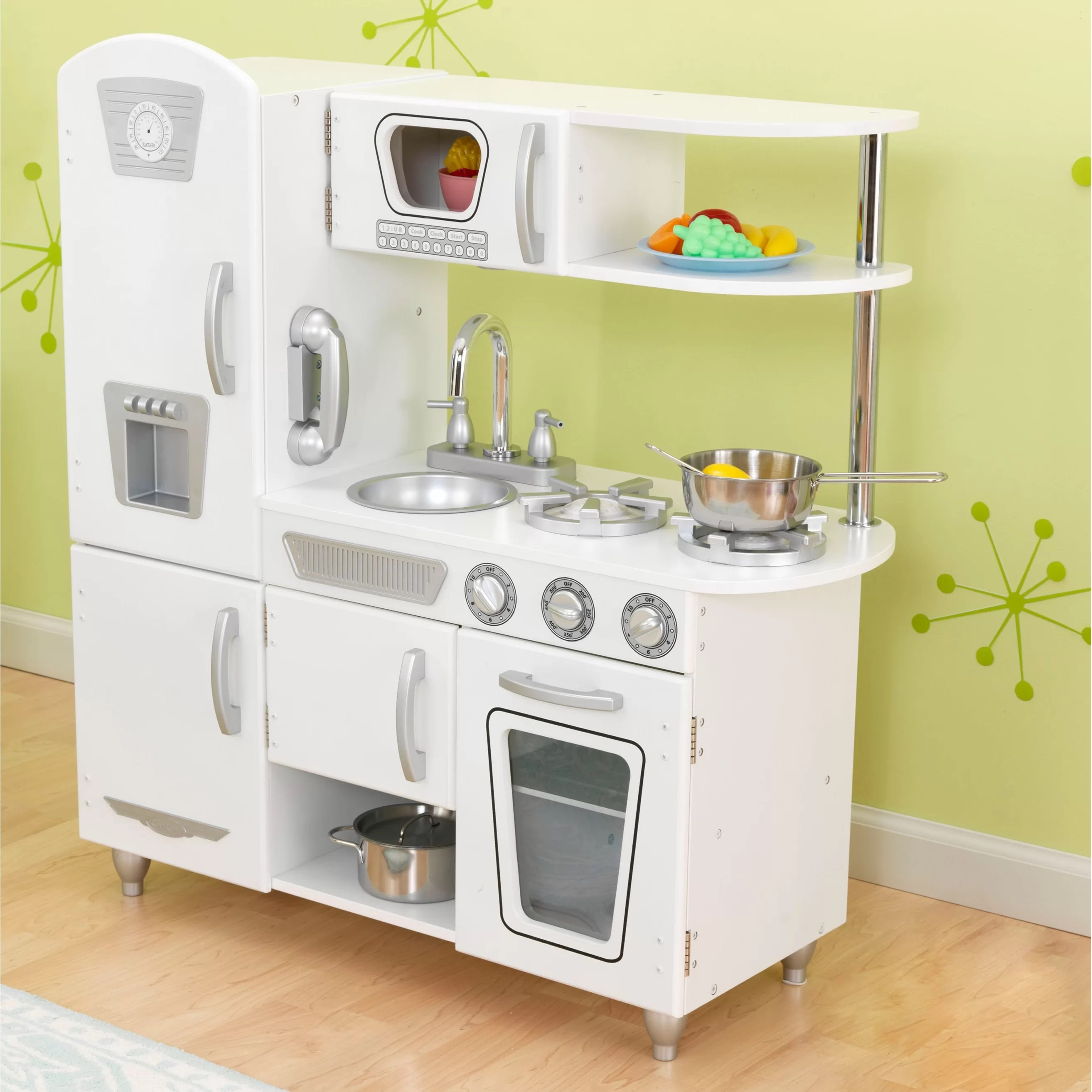 children play kitchen inexpensive backsplash kidkraft vintage and reviews wayfair