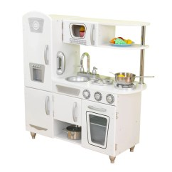 Toddler Play Kitchens Lowes Kitchen Cabinet Sale Kidkraft Vintage And Reviews Wayfair