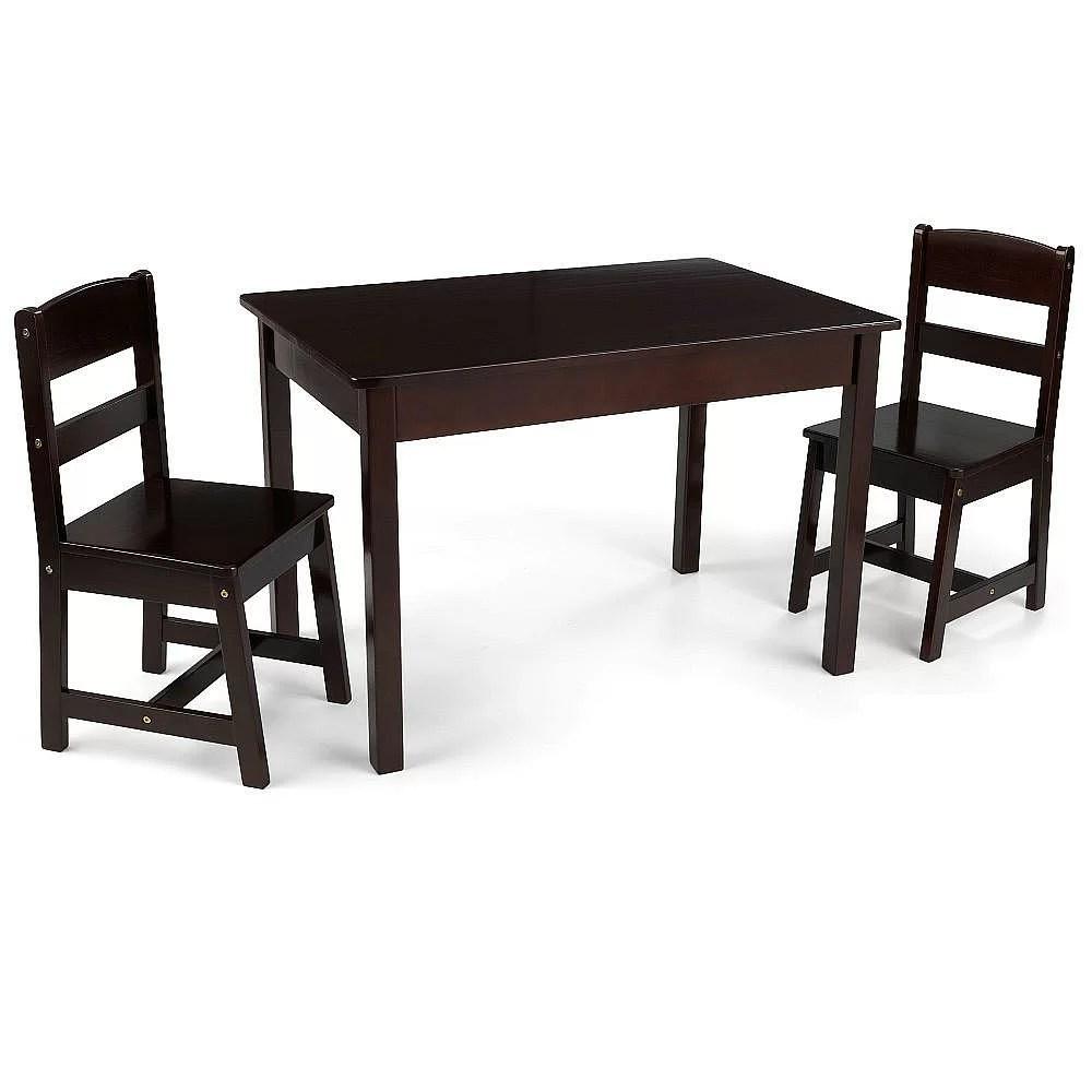 KidKraft Kids 3 Piece Wood Table  Chair Set  Reviews